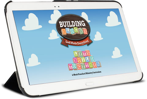 Building Blocks Preschool Ministry Curriculum