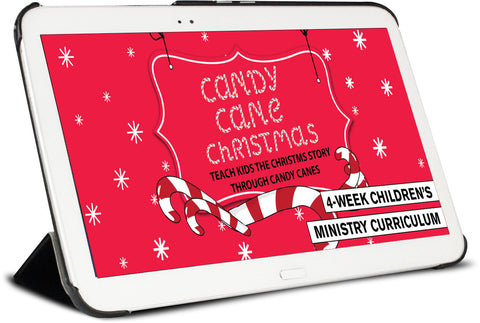 Candy Cane Christmas Children's Ministry Curriculum