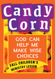 Candy Corn Children's Ministry Lesson
