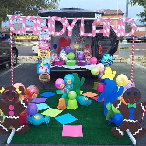 Candy Land Trunk Or Treat
