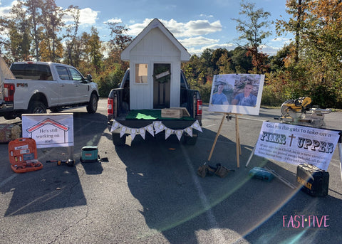 Chip & Joanna Gaines Trunk Or Treat