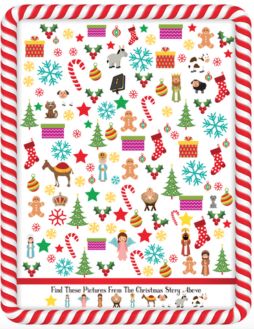 photo about Seek and Find Printable called Xmas Look for And Discover Worksheet