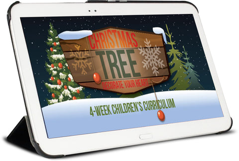 Christmas Tree Children's Ministry Curriculum