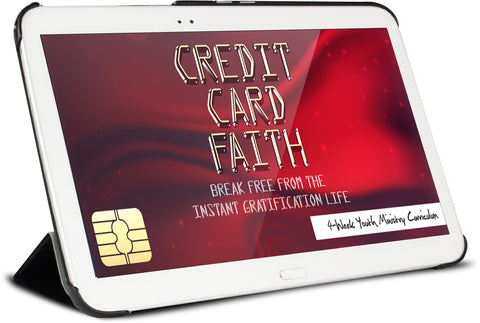 Credit Card Faith Youth Ministry Curriculum