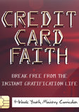 Credit Card Faith 4-Week Youth Ministry Curriculum