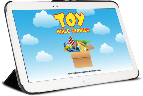 Toy Bible Stories Preschool Ministry Curriculum.