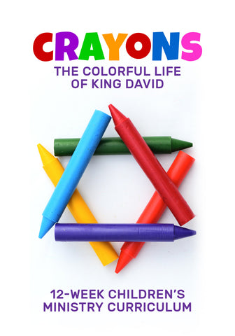 Crayons 12-Week Children's Ministry Curriculum