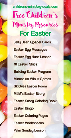 Free Easter Children's Ministry Resources