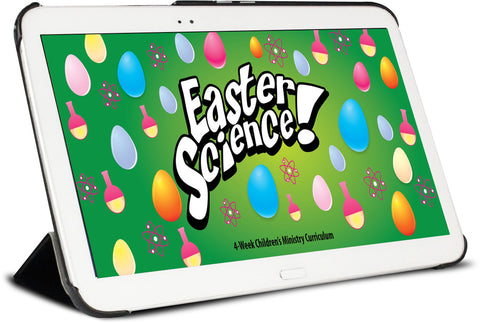 Easter Science 4-Week Children's Ministry Curriculum