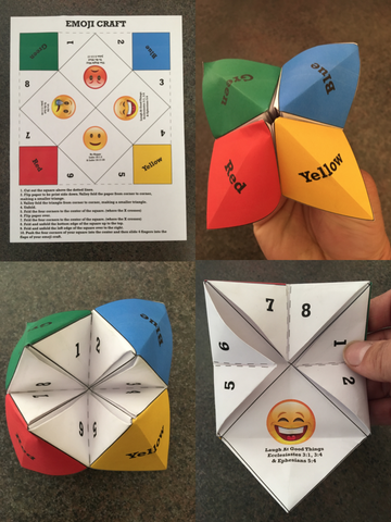 Emoji Origami Craft