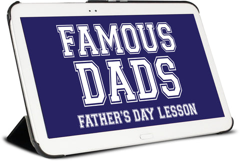 Famous Dads Children's Ministry Lesson