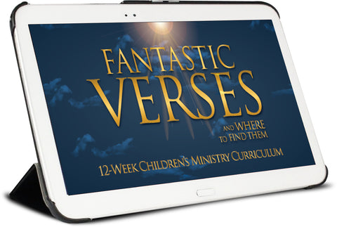 Fantastic Verses and Where to Find Them Children's Ministry Curriculum