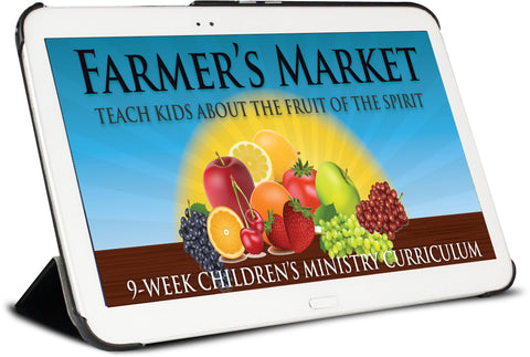 Farmers Market Children's Ministry Curriculum