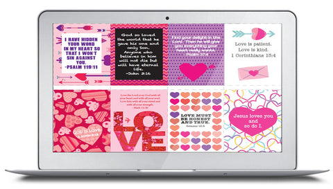 Free Bible Verse Valentine's For Kids