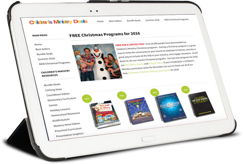 Free Christmas Programs for Children's Ministry