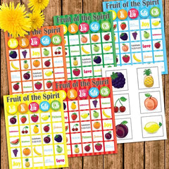 Fruit of the Spirit Bingo