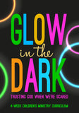 Glow In The Dark Children's Ministry Curriculum