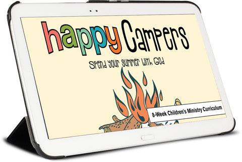 Happy Camper Children's Ministry Curriculum
