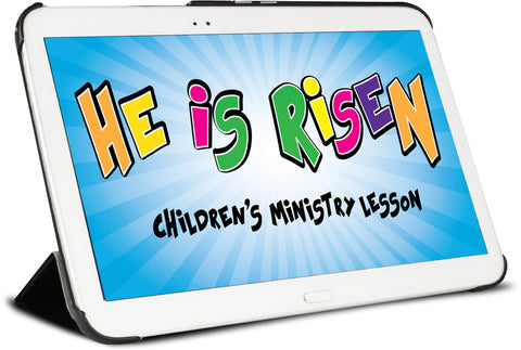 He Is Risen Easter Children's Ministry Lesson