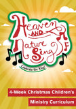 Heaven and Nature Sing 4-Week Children's Ministry Curriculum