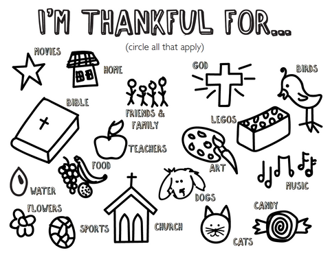 bible coloring pages thankfulness - photo#7
