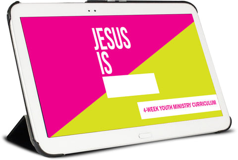 Jesus Is Youth Ministry Curriculum