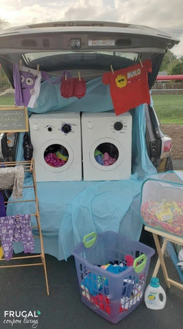 Laundry Day Trunk Or Treat Theme