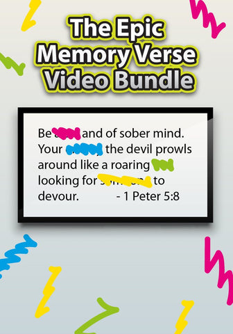 Memory Verse Video Bundle
