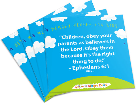 Memory Verse's for Kids