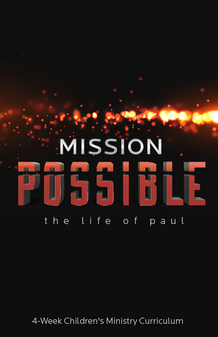 Mission Possible 4-Week Children's Ministry Curriculum