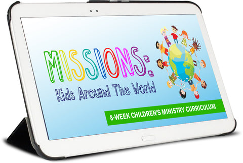 Missions: Kids Around the World Children's Ministry Curriculum