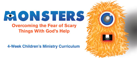 Monsters Children's Ministry Curriculum