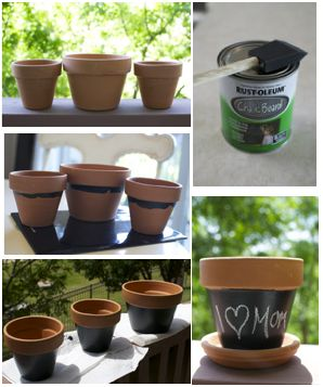 Mother's Day Flower Pot Craft For Kids