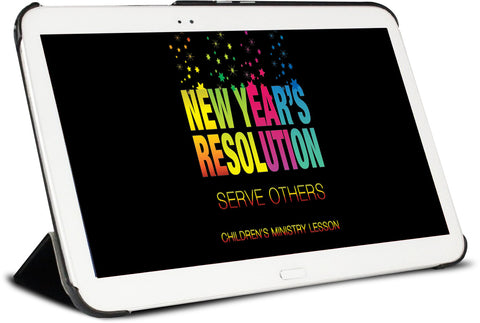 New Year's Resolution Children's Ministry Lesson