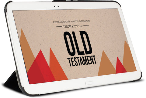 Old Testament 4-Week Children's Ministry Curriculum