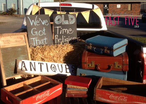 Old Time Religion Trunk Or Treat Theme