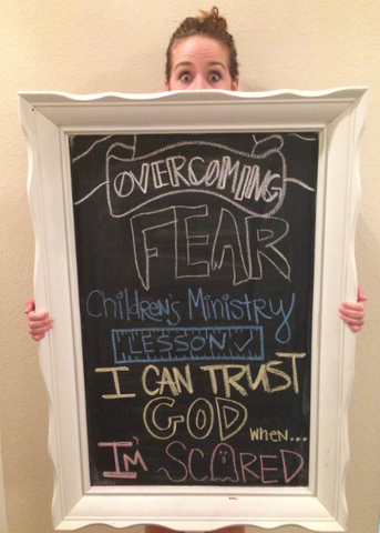 Overcoming Fear Children's Ministry Lesson