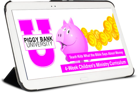 Piggy Bank University Children's Ministry Curriculum