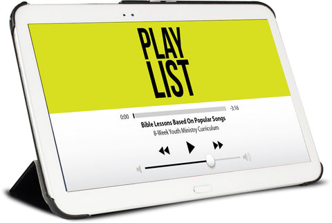 FREE Playlist Youth Ministry Lesson – Children's Ministry Deals