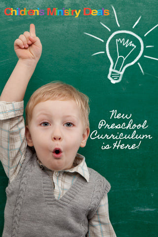 Preschool Children's Ministry Curriculum