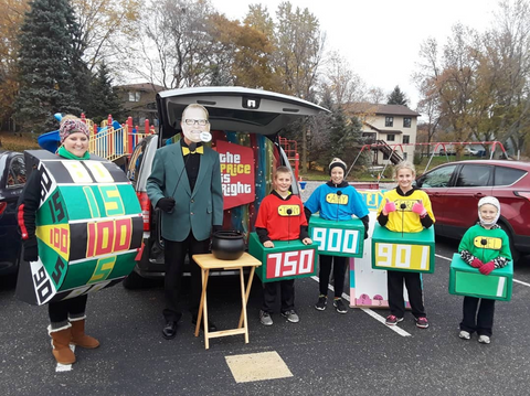 Price Is Right Trunk Or Treat