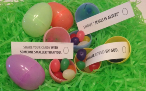 Printable Easter Egg Messages