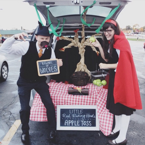 Red riding Hood Trunk Or Treat