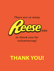 Reeses Thank You Note