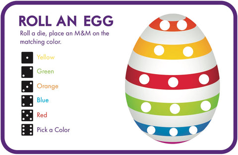 Roll and Egg Easter Game