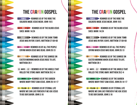 The Crayon Gospel