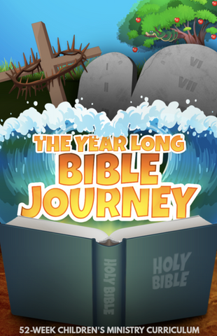 The Year Long Bible Journey 52-Week Children's Ministry Curriculum