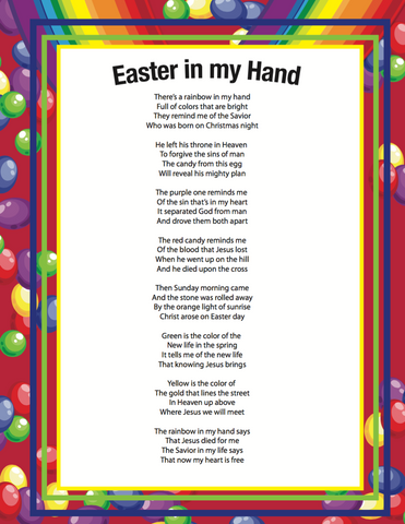 Easter Poems For Your Man 100