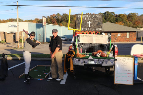 Sports Trunk Or Treat Theme