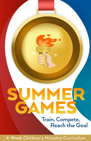 Summer Games 4-Week Children's Ministry Curriculum